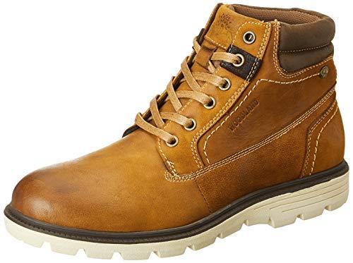 Woodland Men's Camel Leather Boots-5 UK (39 EU) (6 US) (GB 3206419)