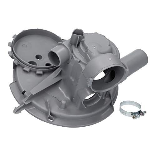 Pumpentopf mit Dichtung und Rückschlagventil Spülmaschine Geschirrspüler für Bosch Siemens Balay 00668102 668102