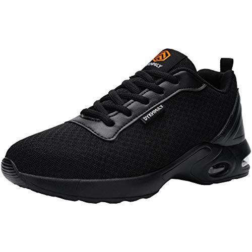 FENLERN Steel Toe Shoes for Women Lightweight Safety Work...