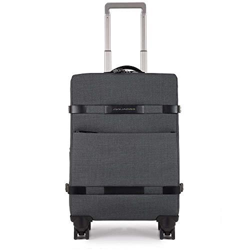 Piquadro Move 2 Trolley, Sintetico, Blu, 53 Litri, 56 cm