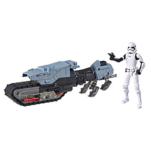 Star Wars - Figura con vehículo Treadspeeders Primera Orden(HasbroE3030EU4)