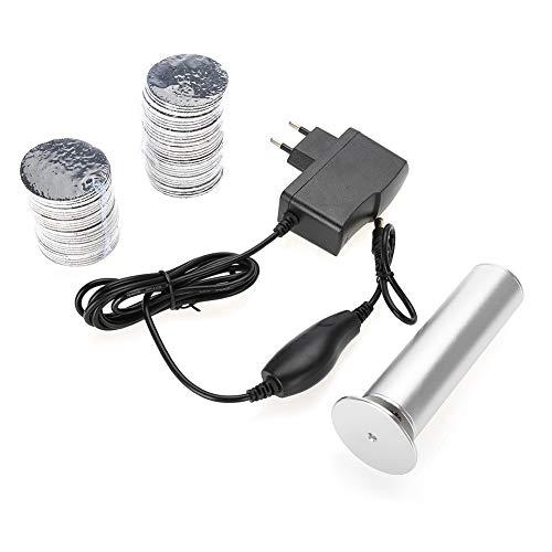 Herramienta de pedicura eléctrica,afilador de pies automático portátil profesional,máquina para el cuidado de los pies con removedor de callos de piel muerta,recargable por USB(EU Plug-gris)