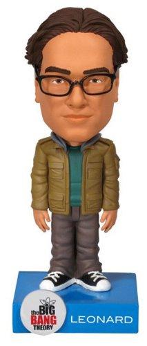 Funko - FU2700 - Figurine - Big Bang Theory - Leonard - Wacky Wobbler