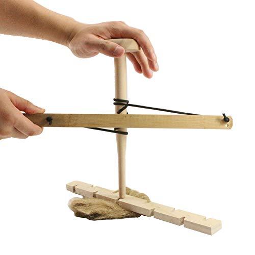 WFZ17 Taladro de arco duradero de madera primitiva al aire libre práctica de fricción herramienta