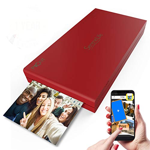 Serene Life Portable Wireless Photo Printer