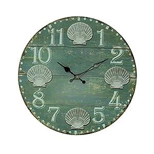 410M16iNqkL._SS300_ Coastal Wall Clocks & Beach Wall Clocks
