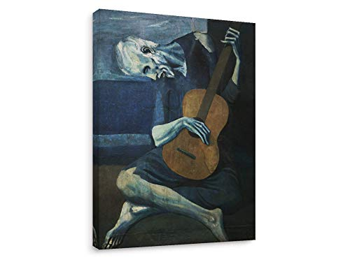 The Old Guitarist Picasso Print