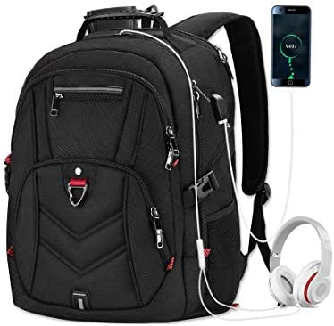 Laptop Backpack 17 Inch Business Travel Backpacks for Men Women Extra Large Waterproof TSA Anti product image