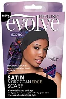 FIRSTLINE Evolve Exotics Satin MOROCCAN EDGE Scarf