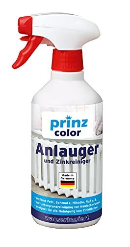 prinzcolor Premium Anlauger Zinkreiniger Entfetter Kraftreiniger Aktivreiniger Farblos 0,5l