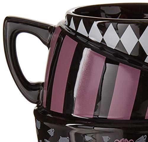 Silver Buffalo AW8295B Disneys Alice in Wonderland Sculpted Mug Multicolor