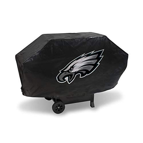 NFL Rico Industries Vinyl Padded Deluxe Grill Cover, Philadelphia Eagles, 68 x 21 x 35-inches