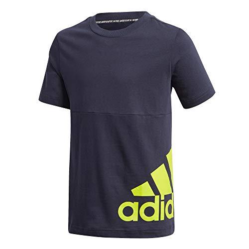 adidas B MH BOS T2 Camiseta, Niños, Tinley/Seliso, 128 (7/8 años)