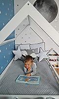 completo letto&casa+materasso ECO,stile scandinavo,bambino 160x80cm+sponde (colore del letto: bianco) #8