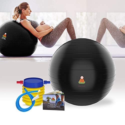 R 65cm Anti-Burst Fitness Swiss Ball For Gym Yoga Pilates Pregnancy   R
