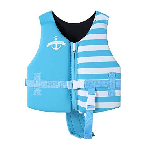 Zilee Niños Chaleco de Natacion Chaleco de Flotador Traje de Flotador Naranja Azul Marino Negro Rojo por 10-23 KG