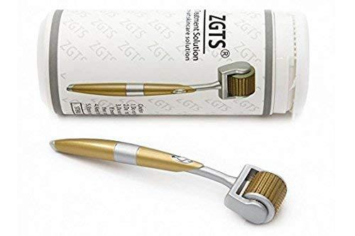 DODARY Rodillo Derma de 0,25 mm, rodillo de microagujas de titanio para cara, rodillo facial de microdermoabrasión, dermaroller microagujas