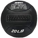 Champion Sports PRX20 Rhino Promax Elite Slam Balls, 20 lb, Soft Shell with Non-Slip Grip, Medicine Wall Exercise Ball for Weightlifting, Plyometrics, Cross Training, & Home Gym Fitness