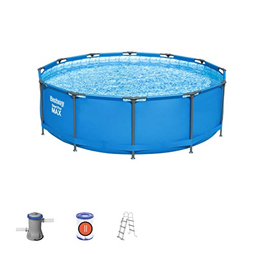 Bestway 56418 - Piscina Desmontable Tubular Steel Pro Max 36