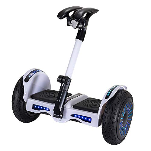 """Smart Self-Balancing Electric Scooter, 10"""" Tires, Bluetooth app Management, Safer and Easier to Ride, Good for Teens and Adults, 1-Year Warranty"""
