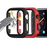 Apple Watch Series 3 / Series 4 Coque avec Film de Protection d'écran 42 mm
