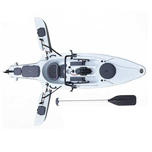 Fissot Newest 1-Person Folding Canoe Fishing Jet Plastic Kayak