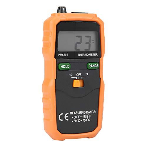 Termômetro eletrônico, ferramenta de teste de temperatura de 2.000 contagens Termômetro, display LCD Celsius/Fahrenheit Produção de alimentos de alta precisão