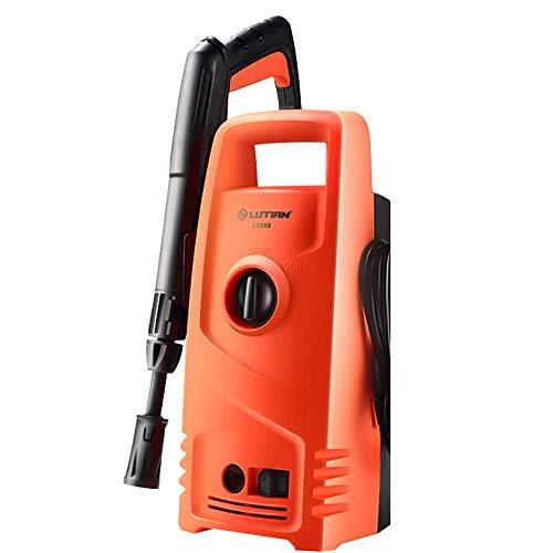 L@LILI Électrique Haute Pression Voiture Machine à Laver la Maison 220V 1200W x5 étanche Induction réglable Pistolet tête de Voiture Pompe de Lavage Portable Pistolet à Eau,B