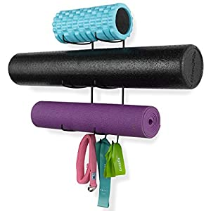 Wallniture Guru Wall Mount for your Yoga Mat and Home Gym Equipment