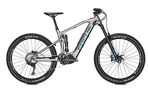 Derby Cycle Focus Sam² 6.8 Shimano Steps Fullsuspension Elektro Enduro Mountain Bike 2019 (M/44cm, Grey)