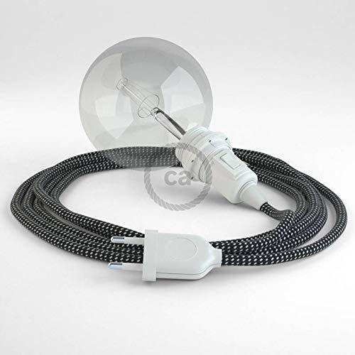 creative cables Créez Votre Snake pour Abat-Jour 3D Étoiles RT41 et apportez la lumière là où Vous Souhaitez. - 5 Mètres, Noir
