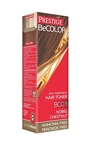 Vips Prestige - BeColor Tinte Semi Permanente Color Nuez Moscada BC03, Sin Amoniaco Sin Peroxide