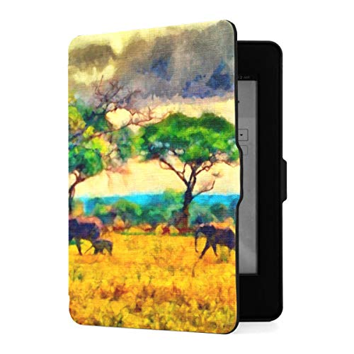 Slimshell Case für Amazon Kindle Paperwhite1 / 2/3 mit Auto Sleep/Wake, Bunte...
