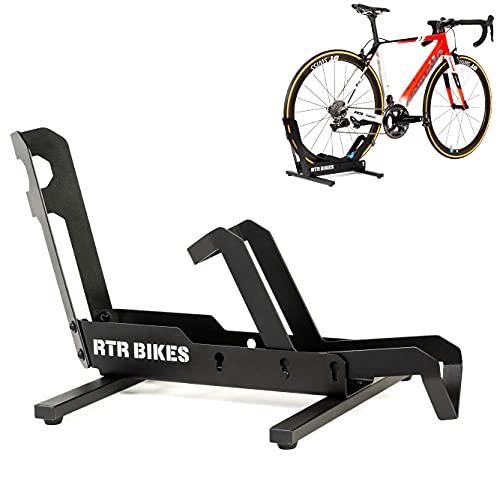 RTR BIKES Brutus Professional Freistehender Fahrradständer ohne Befestigung - Ideal für Ihre Garage, Ihr Haus oder Ihr Fahrradgeschäft
