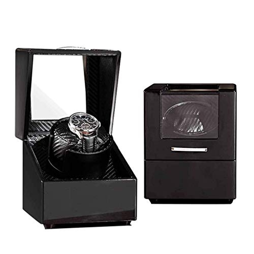 Yeer Watch Boxes Winder for Automatic Watches Wood Rotation Best Watch Winder Extremely Silent Motor (Color : C)