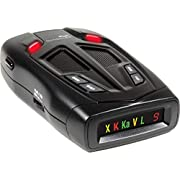 Whistler Z-15R High Performance Radar Laser Detector with Real Voice Alerts ,Total Laser Detection and Icon Display with Digital Strength Indicator