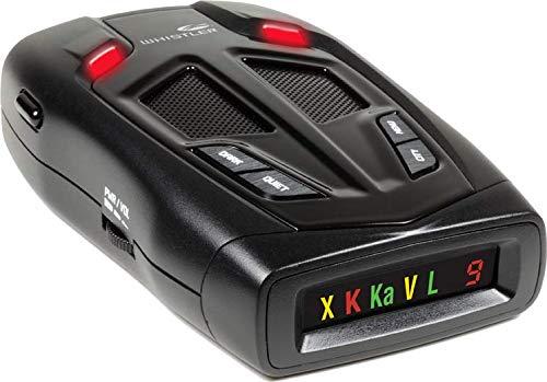 Whistler Z-15R Détecteur laser de radar haute performance avec alertes vocales réelles, détection totale du laser et affichage des icônes avec indicateur de force numérique