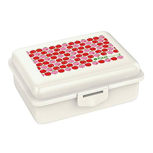 Fizzii Lunchbox (Inkl. Obst-/ Gemüsefach, schadstofffrei, spülmaschinenfest, Motiv: Äpfel byGraziela)