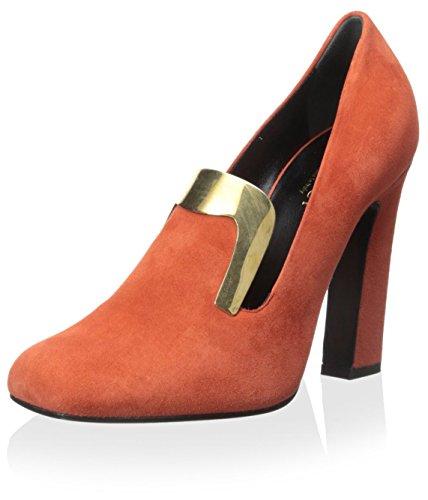 Gucci Damen Loafer Pumps, (Oxidation (Burnt Orange)), 38.5 EU