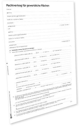 AVERY Zweckform 2241e Pachtvertrag für gewerbliche Flächen (von Rechtsexperten geprüft, Dokumentation Pachtobjekt, Pachtdauer, Pachtzweck und Pachtzin) [PDF-Download für Mac]