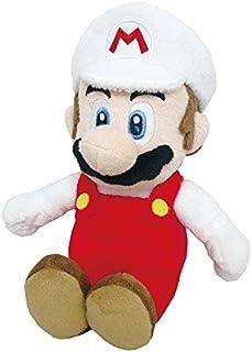 "Little Buddy Super Mario All Star Collection 1420 Fire Mario Stuffed Plush, 9.5"""