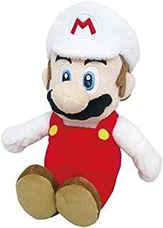 Little Buddy Super Mario All Star Collection 1420 Fire Mario Stuffed Plush, 9.5