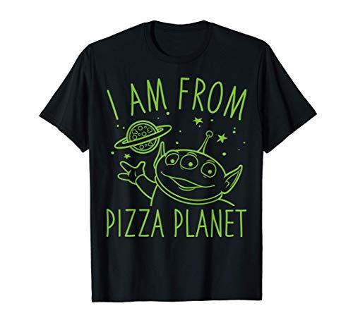 Disney Pixar Toy Story Neon Green Alien Pizza Planet T-Shirt T-Shirt