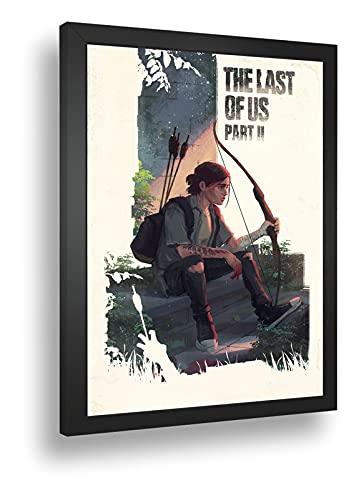 Quadro Decoro Poste The Last Of Us Pt2 Ellie Arco E Flecha
