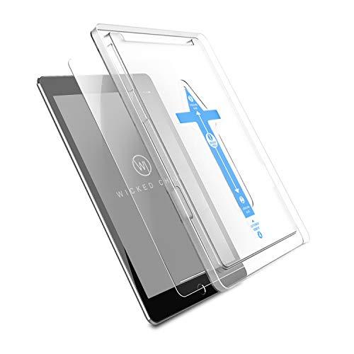Wicked Chili Panzerglas geeignet für iPad Air 3 2019 / iPad Pro 2017 (10.5') mit Schablone zur Positionierung, Schutzfolie Panzerfolie Displayschutz Schutzglas (Positionierhilfe, Pencil kompatibel)