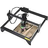 ZCME-power CNC Máquina de Tallado Kit 20 W,Máquina de Corte de Grabado de Madera USB, Portátil Metal Fresadora Enrutador Tallar Corte para Carpintería