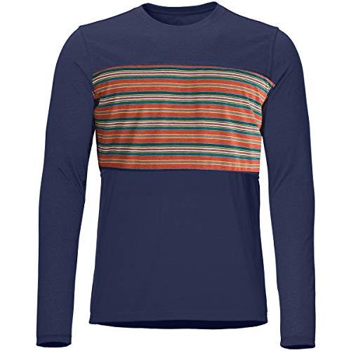 Marmot Echo View T-Shirt à Manches Longues pour Homme M Bleu Marine Arctique.