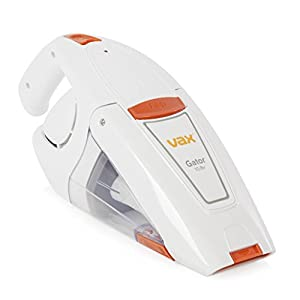 Vax Gator Cordless Rechargeable Handheld Vacuum Cleaner, 10.8 V, White