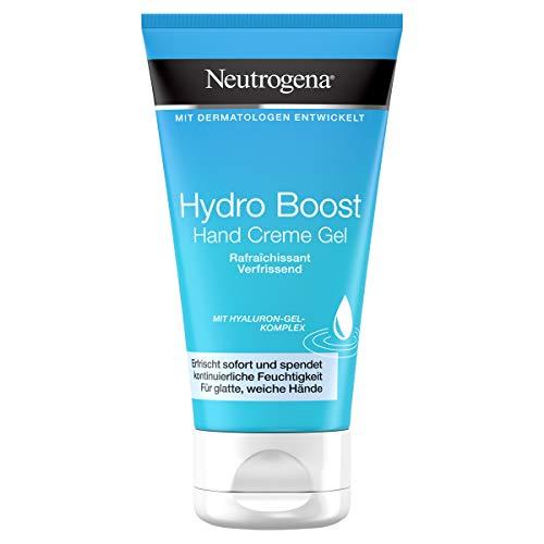 Neutrogena Hydro Boost Handcreme Gel, mit Hyaluron, für jede Haut, 75ml