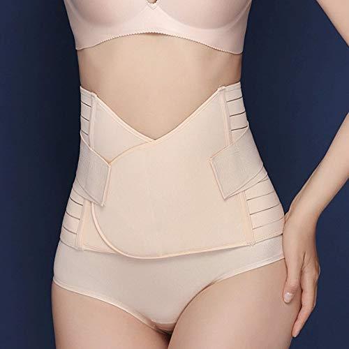 Fontsime 女性の通気性腰サポートベルトバックブレース腰椎椎間板ヘルニアのウエスト治療腰筋緊張肌の色